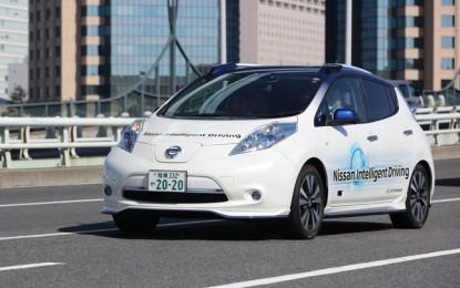 Renault-Nissan akan meluncurkan lebih dari 10 kendaraan dengan teknologi autonomous drive dalam empat tahun ke depan