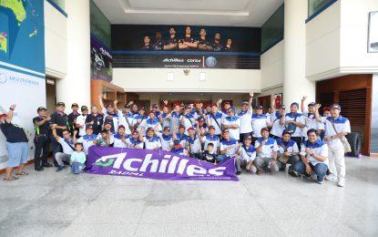 Komunitas Datsun Go Club Indonesia Silaturahmi ke Pabrik Ban Achilles Corsa