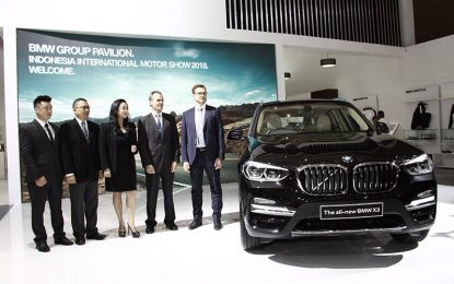 Bawa 16 Model Terbaik , BMW Sodorkan All New X3