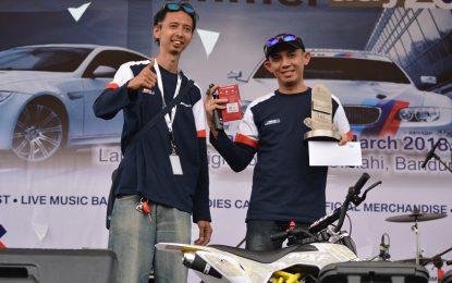 Adi Putra Sabet Gelar The Fastest Drag Race di BIMMERDAY 2018
