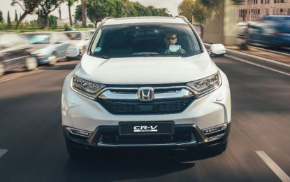 CR-V Hybrid Menyandang Gelar Car of The Year di Inggris