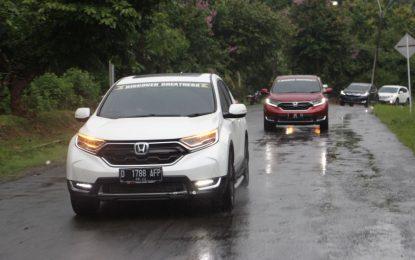 Honda Bandung Center Ajak Jurnalis Bandung Tes Drive All New CR-V