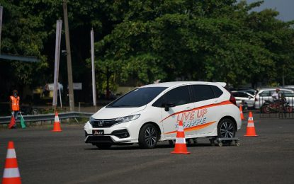 Safety Driving Clinic Komunitas Bersama Honda