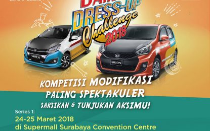 COMING SOON DAIHATSU DRESS UP CHALLANGE 2018