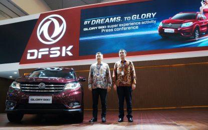 DFSK Glory 580 Resmi di Perkenalkan di GIIAS 2018