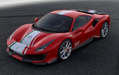 Personalisasi Piloti Ferrari 488 Pista