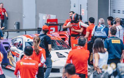 Kemenangan Ganda Renaldi Hutasoit dan Yamaguchi di Race 2 di Singapura