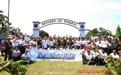 Ford Indonesia gelar Driving Skills for Life untuk prajurit TNI-AU
