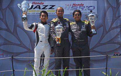 Andika Rama Pembalap Honda Bandung Center Raih Podium Kedua HJSC 2018