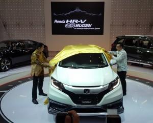Penampilan HR-V Mugen di GIIAS Surabaya autoshow