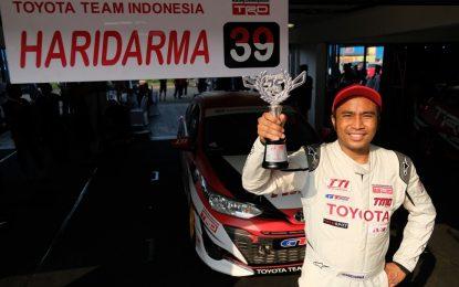 Haridarma Berada di Puncak Kejurnas Indonesia Touring Car Championship 2018