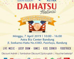 DAIHATSU FESTIVAL 2019 SEGERA DI GELAR