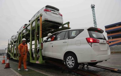 Catatan Ekspor Kendaraan Toyota Sepanjang 2017