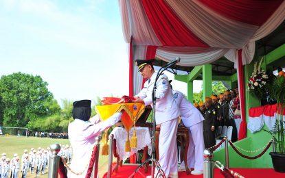 """Wakil Walikota Cimahi pada HUT RI ke 72 Serukan"""" Mari kita kerja bersama"""""""