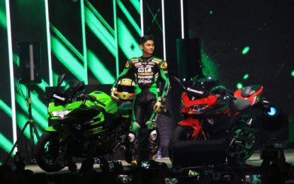 Kawasaki Targetkan Penjualan 15.000 per tahun untuk All New Ninja