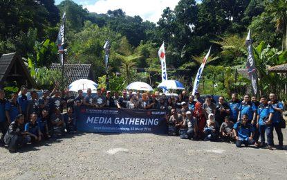 Suzuki Boyong Puluhan Media Keliling Bandung