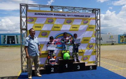 Abimanyu Fermadi Pebalap Cilik Sabet Gelar Juara Junior Mini Prix