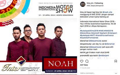 NOAH Bakal Jadi Band Penutup IIMS 2018