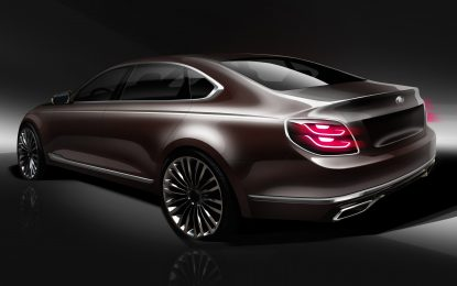 Kia Perlihatkan Desain New K900