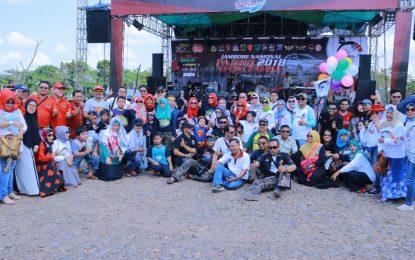 Pajero Sport Family sukses gelar Jamnas kedua di Palembang