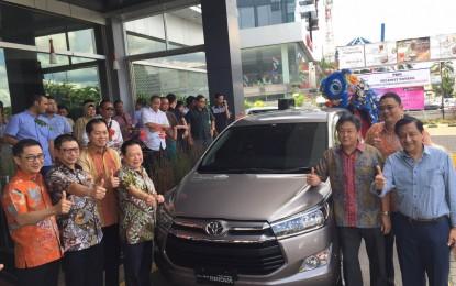 Toyota Menyambangi Konsumennya di Pontianak