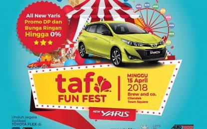 Toyota Fun Fest 2018 Bersama New Toyota Yaris