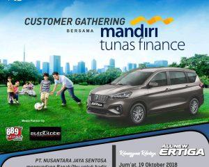 Customer Gathering Bersama Mandiri Tunas Finance