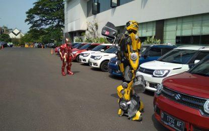 Suzuki Keliling Bandung di Kawal Iron Man