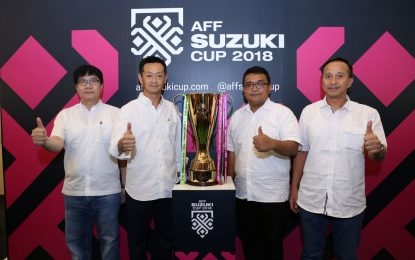 Tebaran Hadiah Melimpah Suzuki All Out di AFF 2018