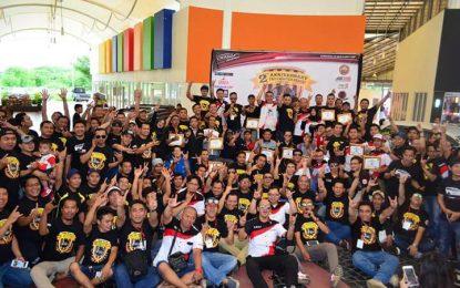 Hari Jadi Kedua Tahun TACI Patriot Bekasi di Hadiri Ribuan Member