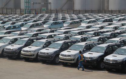 Ekspor CBU Toyota tahun 2017 meningkat 22%