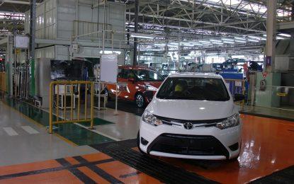 Kinerja ekspor Toyota beranjak naik 18 persen