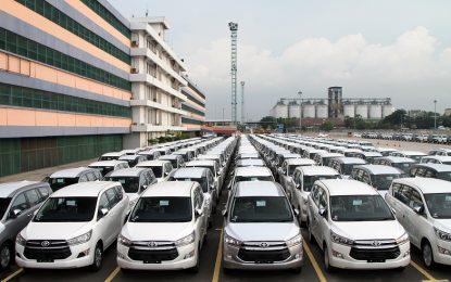 Toyota Indonesia Targetkan Ekspor Naik 10 Persen
