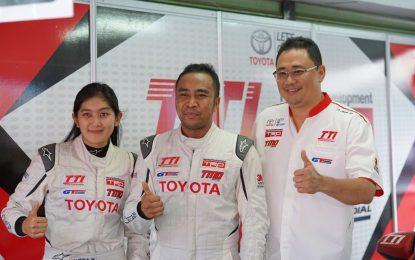 Haridarma dan Alinka Masih Jadi Andalan Tim Toyota Indonesia
