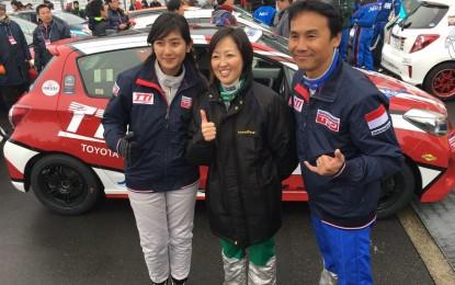 Alinka Hardianti torehkan hasil gemilang di Sirkuit Fuji Speedway Jepang