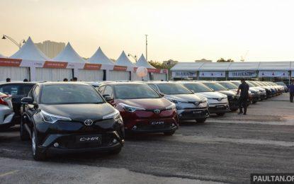 Toyota CH-R Sudah Handover ke Tangan Konsumen di Malaysia, Kapan di Indonesia ?
