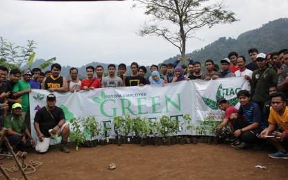 Toyota Indonesia peduli hijau di Karawang