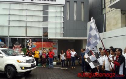 Touring Toyota Fortuner Club Of Indonesia Di Bali Disambut Oleh Agung Toyota