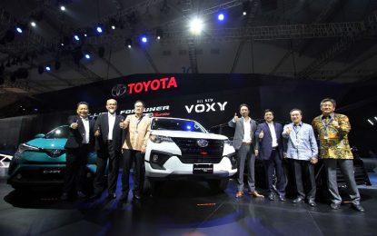 Toyota Hadirkan Sejumlah Line-up Terbaru di GIIAS 2017