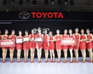 Toyota Pretty Pertahankan Gelar Miss Motor Show 2017