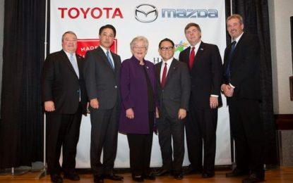 Mazda dan Toyota Siapkan 4000 Tenaga Kerja Untuk Pabrik Baru di Alabama