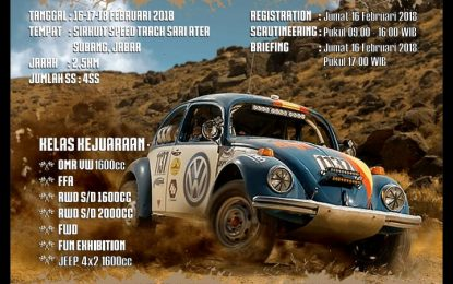 FUN SPEED OFFROAD 2018 (16,17,18 FEBRUARI )