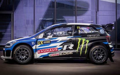 Ajib, VW Polo Supercar di Rally Cross Championship Barcelona 2018