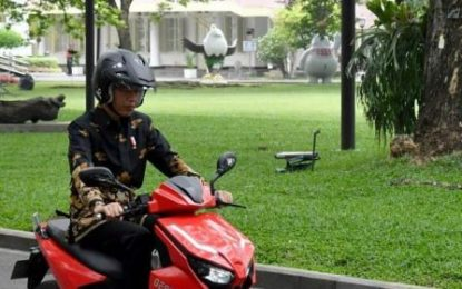 Jokowi Minta Gesits Segera di Produksi Massal, Corsa S88 di Pakai Buat Gesits