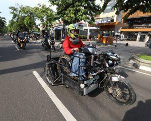Sosok Difabel Inspiratif di Jogyakarta, Mbak Sri Ikut Corsa Rindu Touring 2018