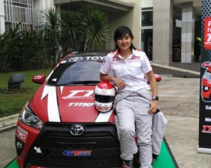 Alinka Hardianti Srikandi Indonesia Kembali Berlaga di Internasional Motosport di Fuji Speedway
