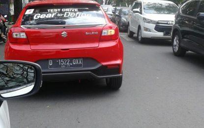 Suzuki Baleno Hatchback menyapa warga Bandung
