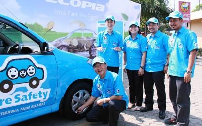 Tidak Bosan, Bridgestone Kembali Gelar Kampanye Tire Safety