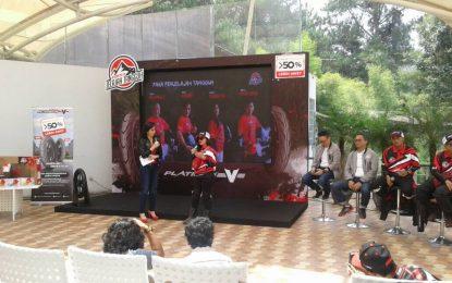 Tim Jelajah Tangguh Riders Corsa Tiba di Bandung