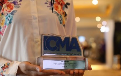 Corsa Raih Penghargaan The Best Content Marketing Implementation in Automotive Supporting Category dari ICMA 2018